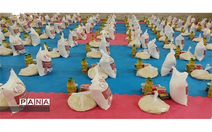 توزیع ۶۵۰۰ بسته معیشتی بین نیازمندان خراسان شمالی