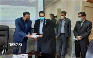 اهدای 13 تبلت به دانش آموزان کم برخوردار و تحت حمایت بهزیستی شهرستان کلات