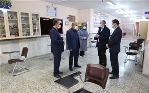 بازدید مدیرکل آموزش و پرورش اردبیل از محل حوزه های امتحانی پایه دوازدهم