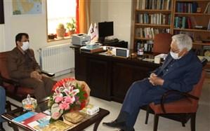 دیدار مدیر کل آموزش و پرورش استان زنجان با پروفسور ثبوتی