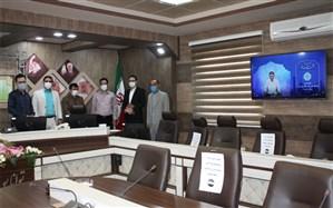 بازدید مدیر کل آموزش و پرورش استان از روند برگزاری  مسابقات قرآن، عترت و نماز استان زنجان