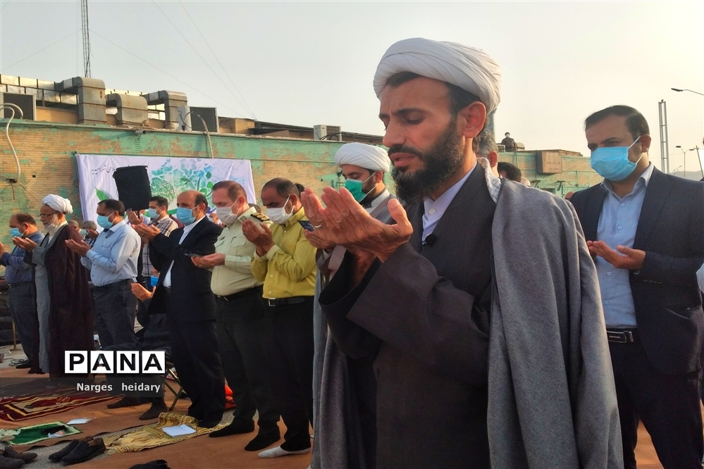 نماز عید سعید فطر در امیدیه