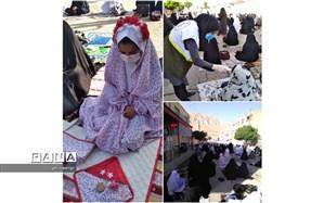 اقامه نماز عید فطر در شهرستان بن