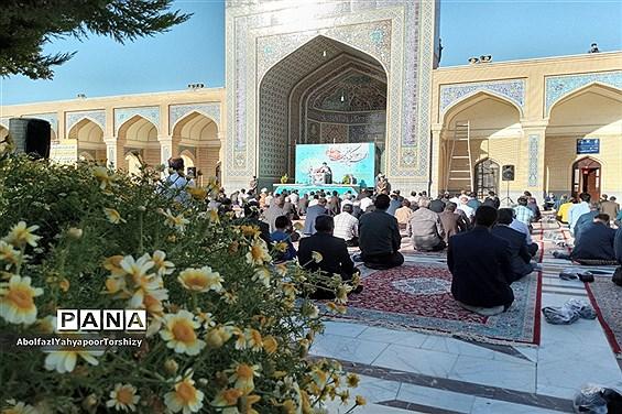 برگزاری مراسم نماز عید سعید فطردر زیارتگاه شهید مدرس کاشمر