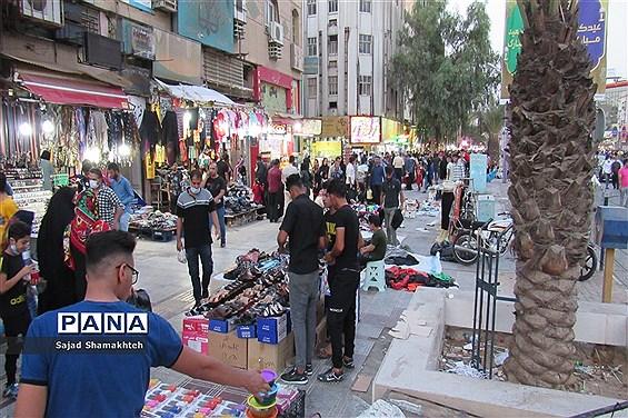 بازار اهواز در آستانه عید فطر زیر سایه کرونا