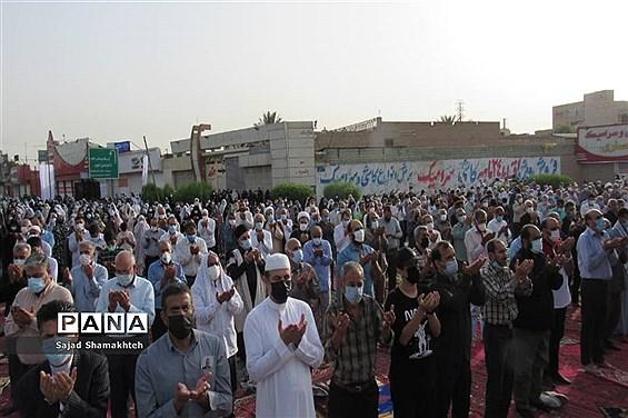 اقامه نماز عید فطر در اهواز