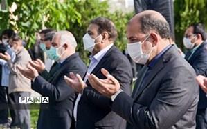 برگزاری نماز عید فطر با رعایت پروتکل بهداشتی در خراسان شمالی