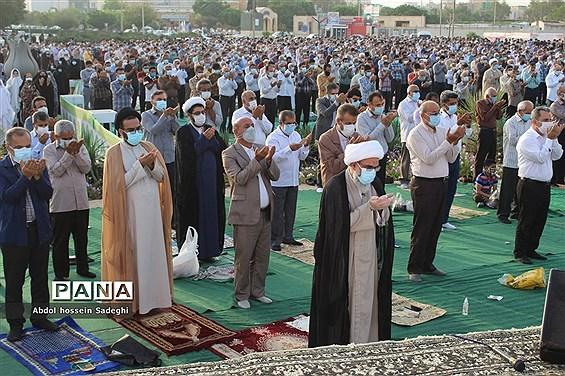 نماز عید سعید فطر در بوشهر