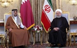 تاکید ایران و قطر بر توقف فوری جنایات رژیم صهیونیستی
