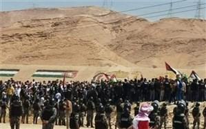 عزیمت هزاران اردنی به مرزها برای دفاع از فلسطین