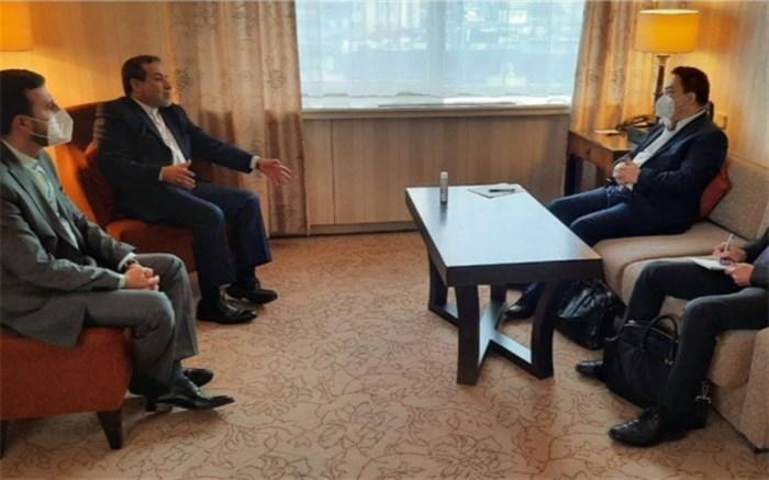 دیدار هیات مذاکره کننده ایران و چین در وین