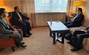 دیدار مذاکرهکننده چین با سیدعباس عراقچی