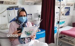 روایت عشق و تعهد معلم نمونه شهرری در بیمارستان
