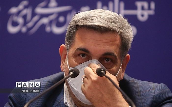 نشست خبری شهردار تهران
