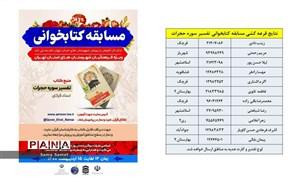 برگزیدگان مسابقه کتابخوانی تفسیر سوره حجرات شهرستان قرچک