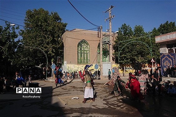 تعزیه خروج مختار در روستای فرح آباد کاشمر
