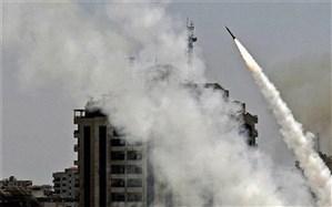 موشک باران تلآویو با موشکهای القسام
