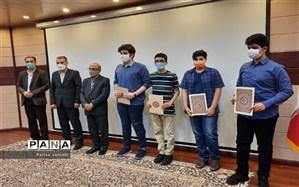 درخشش دانش آموزان منطقه ۱۳ در جشنواره نوجوان خوارزمی