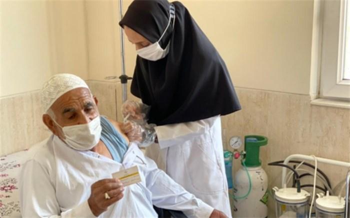 واکسیناسیون افراد بالای 75 سال در سیستان و بلوچستان آغاز شد