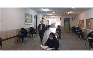 بازدید مدیرکل آموزش و پرورش استان گیلان از سه حوزه امتحانی در رشت