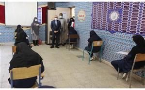 بازدید وزیر آموزش و پرورش از چند حوزه امتحان نهایی شهر تهران