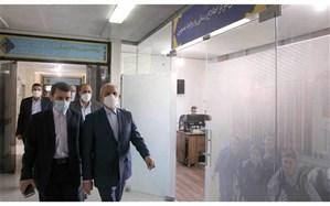 بازدید حاجی میرزایی از مرکز روابط عمومی و تبریک این روز به فعالان حوزه ارتباطات
