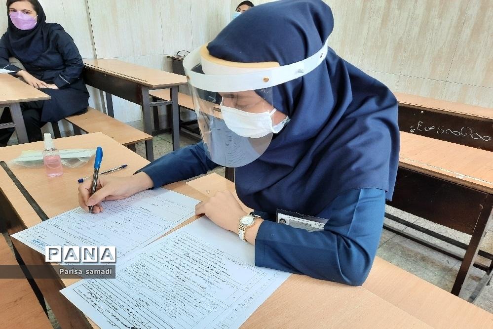 حضور پر شور دانشآموزان منطقه ۱۳ در امتحانات نهایی