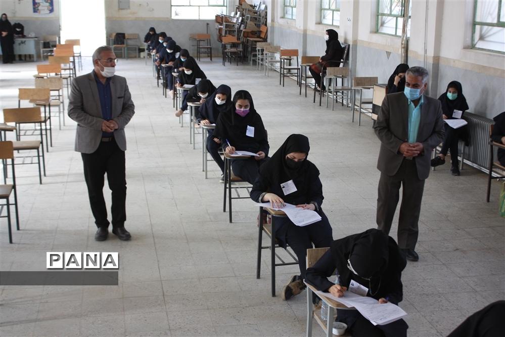 امتحانات هماهنگ پایههای نهم و دوازدهم شهرستان ابرکوه به صورت حضوری