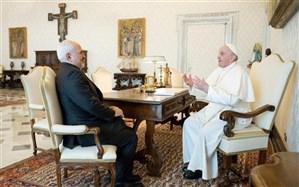 گزارش توییتری ظریف از دیدار با پاپ فرانسیس و دیگر مقامات واتیکان