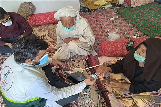 جلوهای از خدمات بسیج جامعه پزشکی به مردم مناطق محروم سیستان و بلوچستان