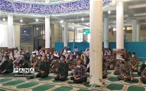 نماز جمعه میزبان بسیجیان فعال شهرستان سامان