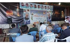 برگزاری اولین همایش راویان دفاع مقدس شهرستان تایباد