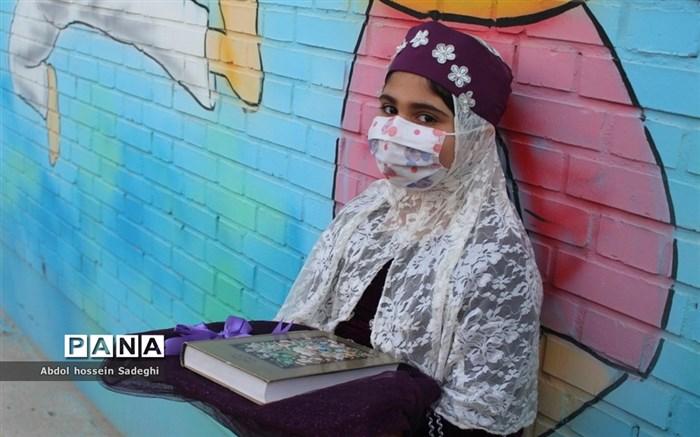 افتتاح کلاس درس تربیت بدنی در سازه مدرسه دبستان دخترانه شهید فولادی 1 بوشهر
