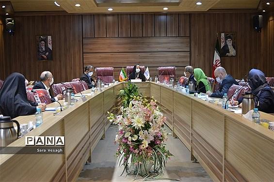 نشست مشترک آموزش و پرورش، وزارت کشور و مدیرکل منطقهای آسیا و اقیانوسیه کمیساریای عالی سازمان ملل متحد