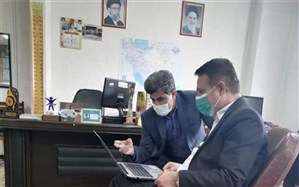نشست  رئیسآموزش و پرورش بندر ریگ با رئیس اداره تربیت بدنی اداره کل آموزش و پرورش استان بوشهر