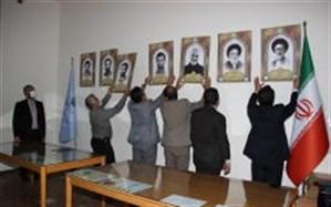 نصب تمثال شهدای آذربایجان شرقی در موزههای تبریز همزمان با سالروز آزادسازی خرمشهر