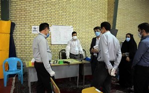 اکیپهای نظارتی مناطق 24 گانه آموزشی  آذربایجانغربی نحوه برگزاری امتحانات را رصد میکنند