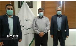 دیدار مسئول بسیج فرهنگیان استان با رییس ستاد اجرایی فرمان امام خمینی(ره) خوزستان