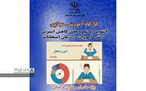 برگزاری کارگاه شیوه های کاهش استرس دانش آموزان در ایام امتحانات ویژه مادران و بانوان فرهنگی استان