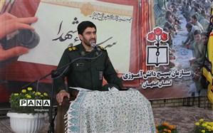 برگزاری آئین اختتامیه جشنواره دانش آموزی سر سفره شهدا در استان اصفهان