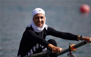 قایقرانی المپیک توکیو؛ دختر ایرانی تاریخساز شد