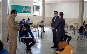 بازدید معاون وزیر آموزش و پرورش از حوزههای امتحان نهایی شهرستان محلات