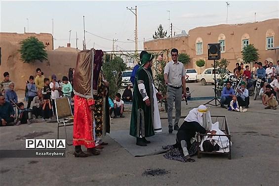 تعزیه معجزات امام رضا (ع) در رزق آباد کاشمر