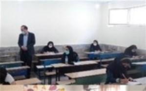 بازدید از حوزههای امتحانات نهایی پایه نهم در شهرستان قرچک