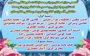 افتخار آفرینان کانون شهید بهشتی فارسان در مسابقات