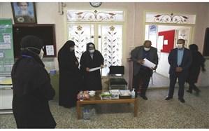 حضور نماینده وزارت آموزش و پرورش در حوزه های امتحانی و تصحیح اوراق نواحی یک و دو اردبیل
