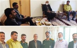 تجلیل از خانواده شهید شاخص بسیج ورزشکاران استان