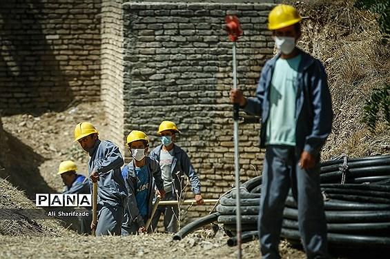 آیین بهرهبرداری از پروژههای مدیریت شهری منطقه 22