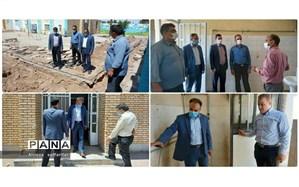 بهسازی مدارس اردستان در راستای پروژه مهر ۱۴۰۰
