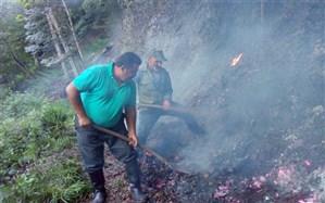 آتشسوزی در جنگل های توسکای مازندران